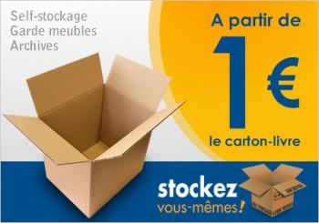 carton livres STOCKEZ VOUS-MEMES