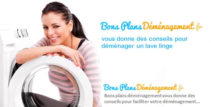 comment déménager un lave-linge. Article du blog bonsplansdemenagement.fr. Le blog d'astuces et conseils pour déménager facilement